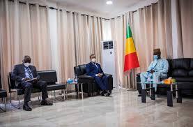 Photo of Rencontre chef de la MINUSMA et président du conseil national de transition
