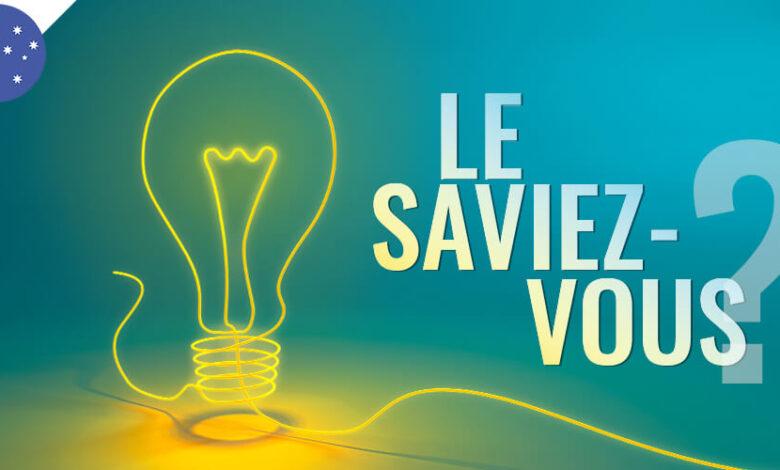 Photo of Le saviez-vous ?