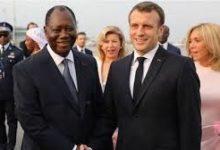 Photo of Macron appelle Ouattara pour contrer la junte malienne.